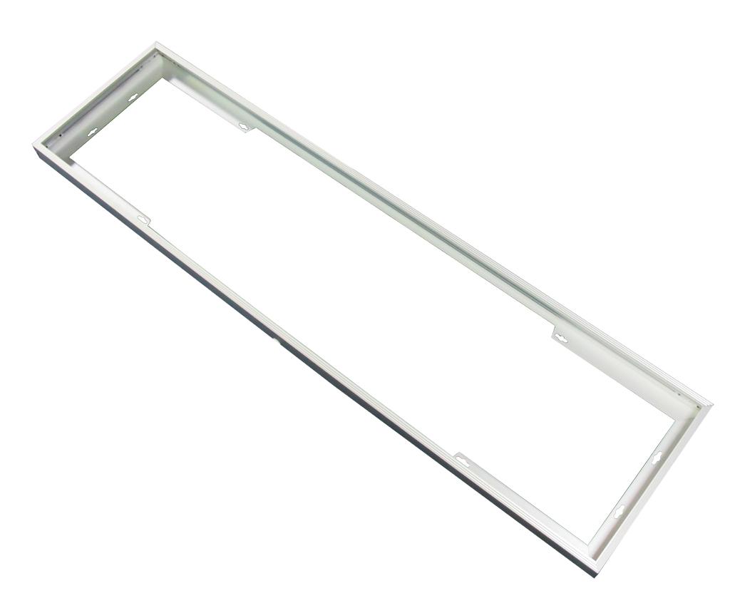Aufputz Aluminium Rahmen für 120x30cm LED Panels | Panel Zubehör ...