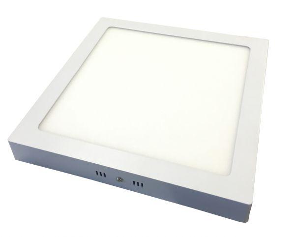 Led Lampen Panel : Aufputz led panel 30x30cm 24w 6000k no dim aufputz panels led