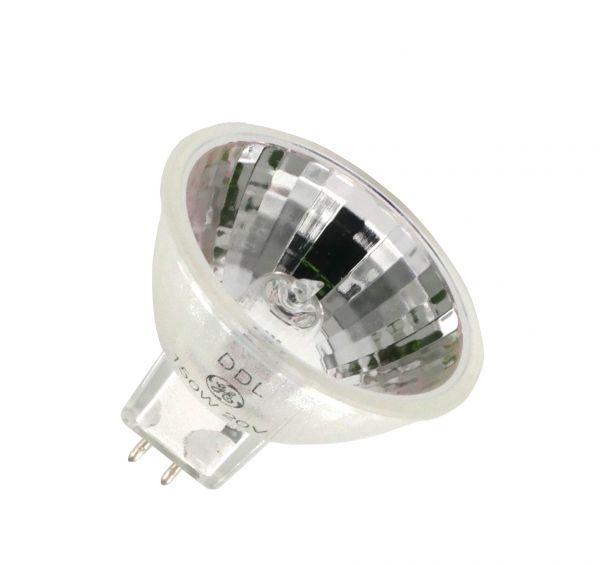 halogen reflektorlampe ge ddl 20 volt 150 watt gx projektionslampen spezial. Black Bedroom Furniture Sets. Home Design Ideas