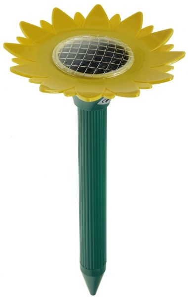 """Solar Maulwurf-Scheuche """"Sunflower"""""""